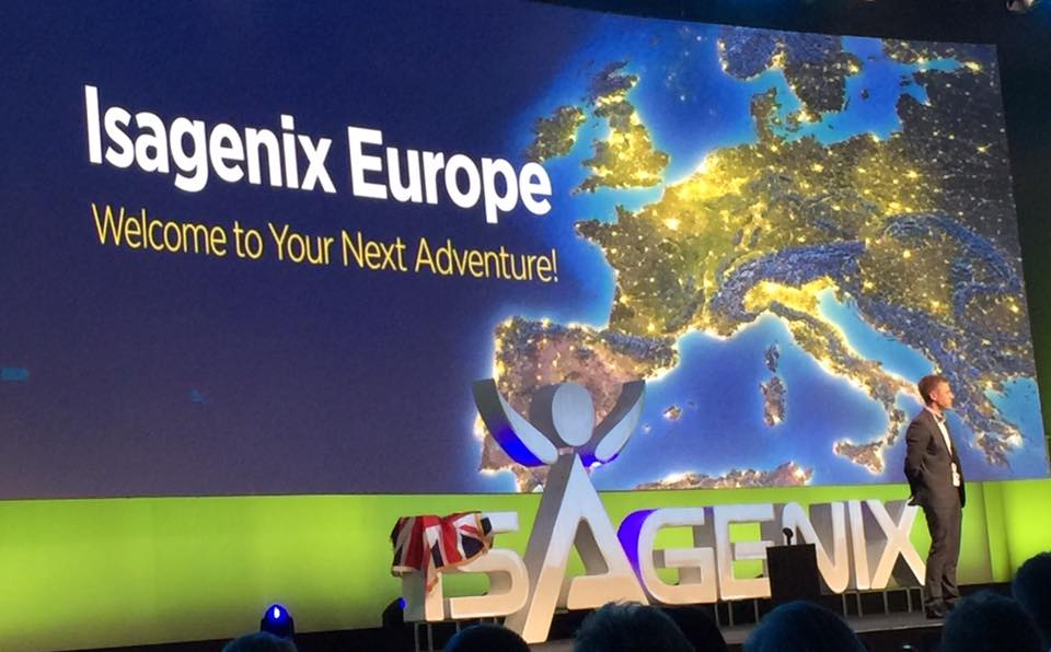 Isagenix is now available in Europe