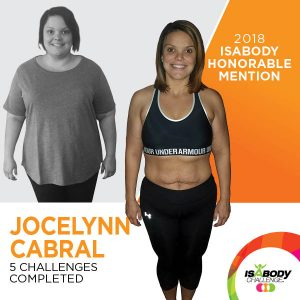 Jocelynn after the Isagenix IsaBody competition